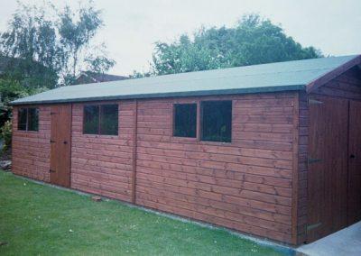 Timber workshop for Garden